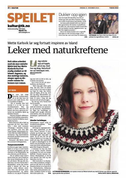 Oppslag i lokalavisa for Nordmøre, Tidens Krav